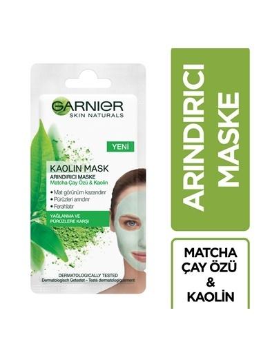 Garnier GARNIER SKIN NATURALS ARINDIRICI MATCHA ÇAY MASKE 8ML Renksiz